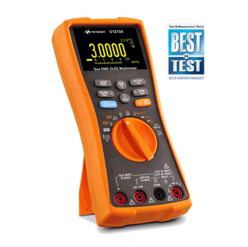 Handheld Digital Multimeter U1270 Series